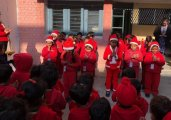 Special Assembly On Christmas by Kindergarten Section