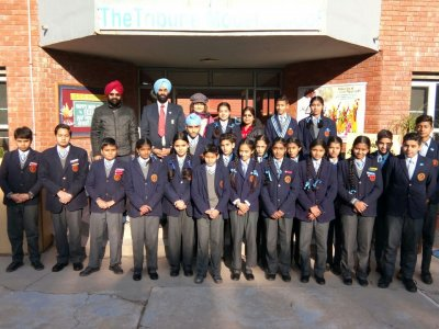 Lohri Celebrations and Interact Club TMS Installation Ceremony
