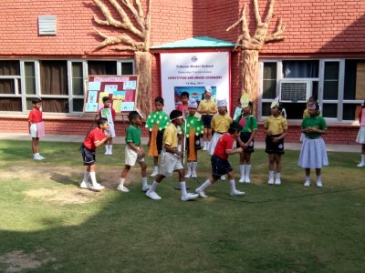 Special Assembly by Class III A on the theme 'Save Trees, Save Forest' - May 18, 2017