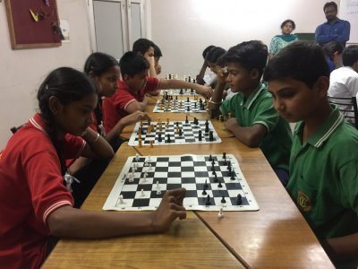 1st Inter house Chess and Carrom Tournament of Session 2017-18