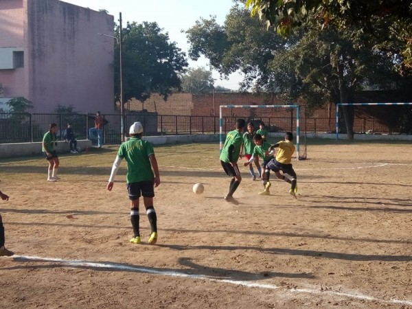 Inter House U-14 Football Competition