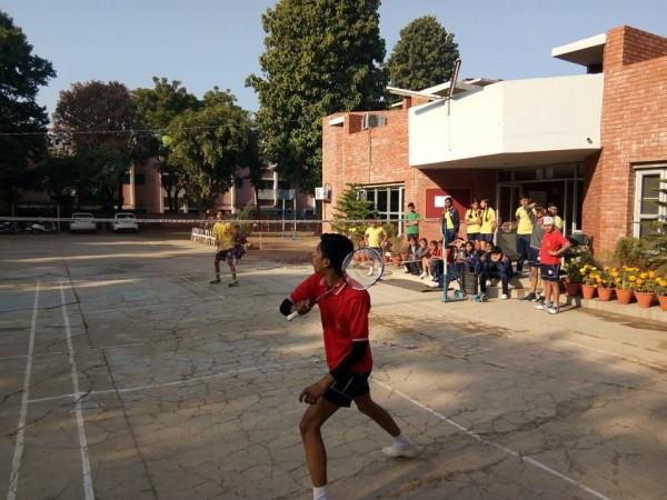 Inter House U-14 & U-17 Badminton Tournament
