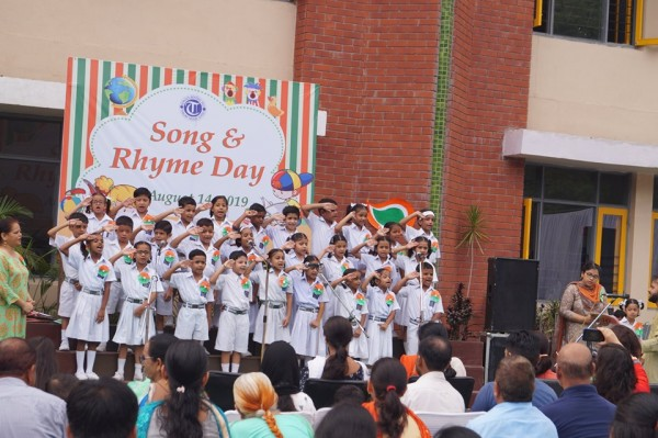 SONG AND RHYME DAY