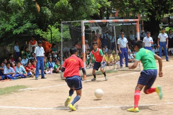 Inter house Football Match